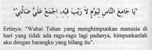 Doa Hilang Barang